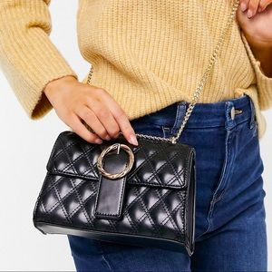 ASOS Quilted Crossbody Bag